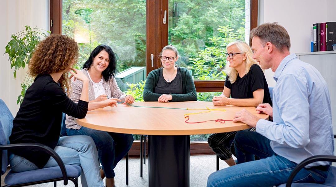 Angehörigenschulung bei Demenzkursen in der Caspar Heinrich Klinik
