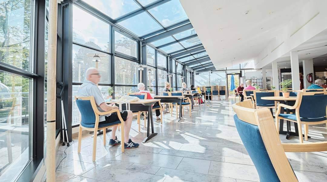 Cafeteria in der Caspar Heinrich Klinik