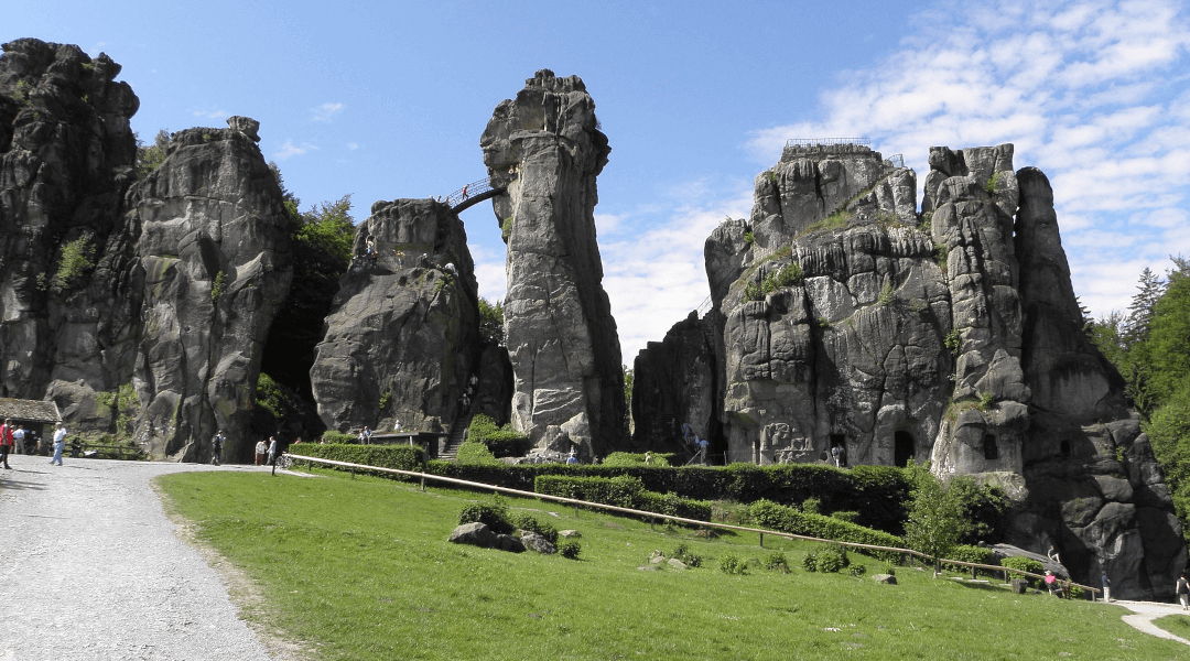 Externsteine Teutoburger Wald Ausflugsziel