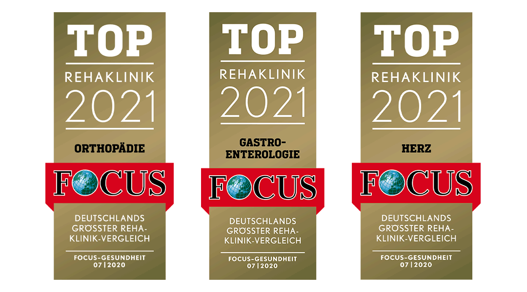 Top Rehaklinik Focus Siegel Caspar Heinrich Klinik