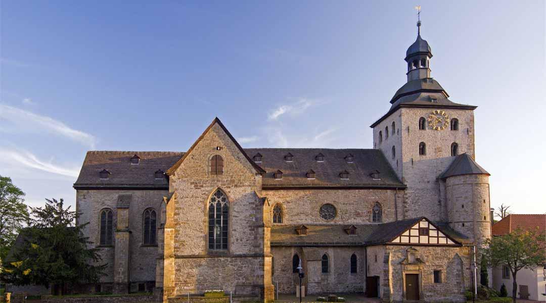 Stiftskirche Eggedom in Neuenheerse