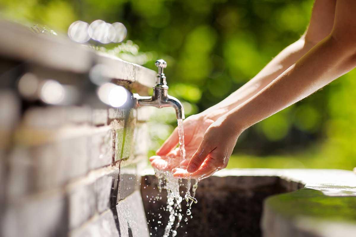 Gesundheit durch Wasser