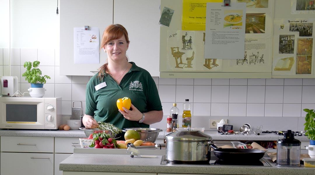 Manuela Ortmann von der Ernährungsberatung
