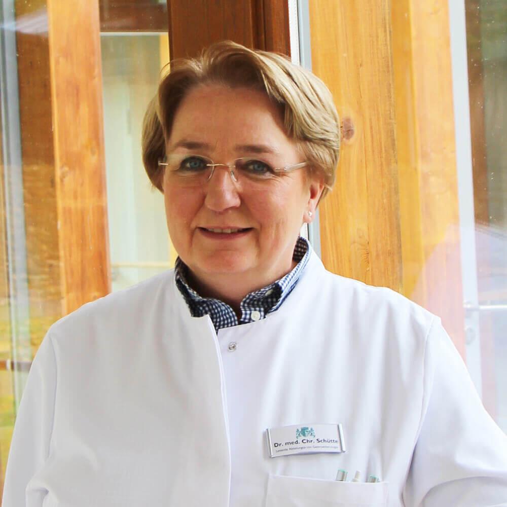 Oberärztin Dr. med. Christiane Schütte
