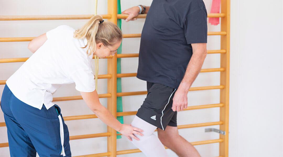 Rehabilitation nach orthopädischen Maßnahmen
