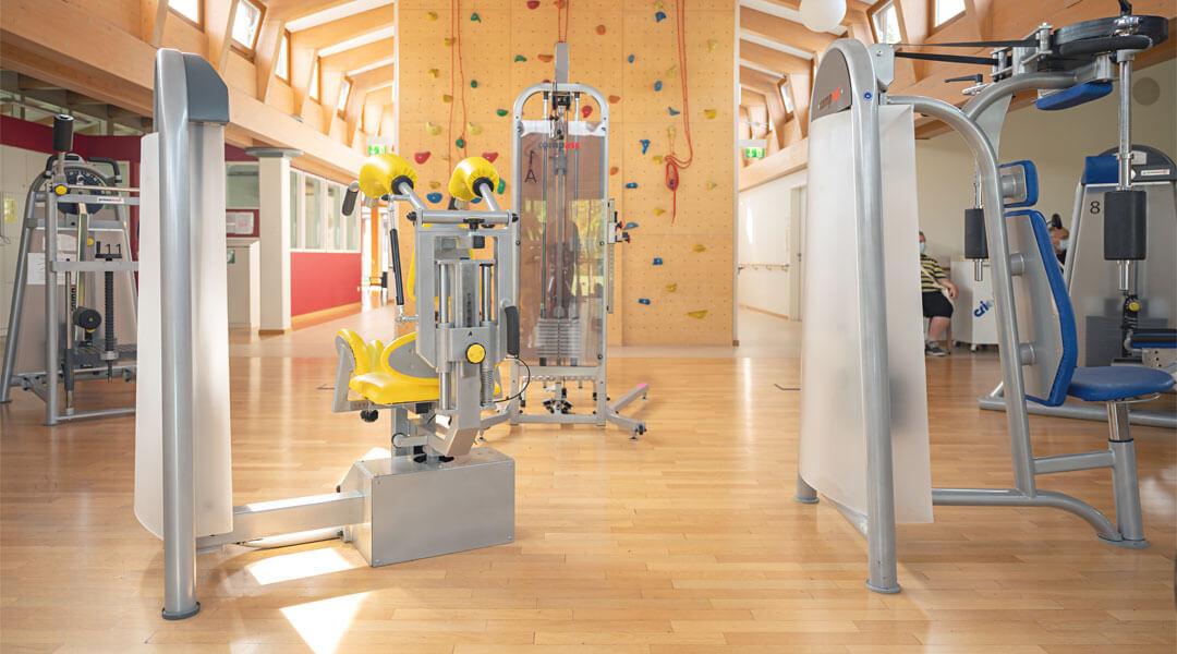 Sporttherapeutisches Zentrum in der Caspar Heinrich Klinik