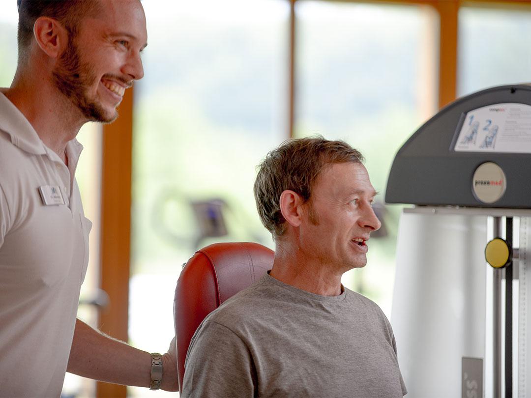 Sporttherapie mit Spaß
