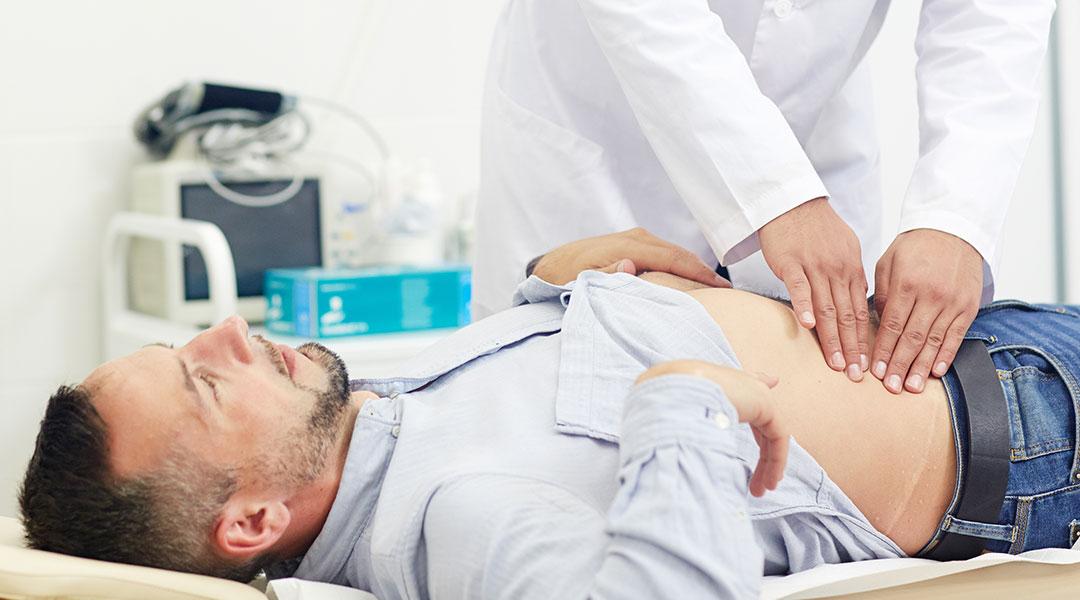 Untersuchung in der Gastroenterologie